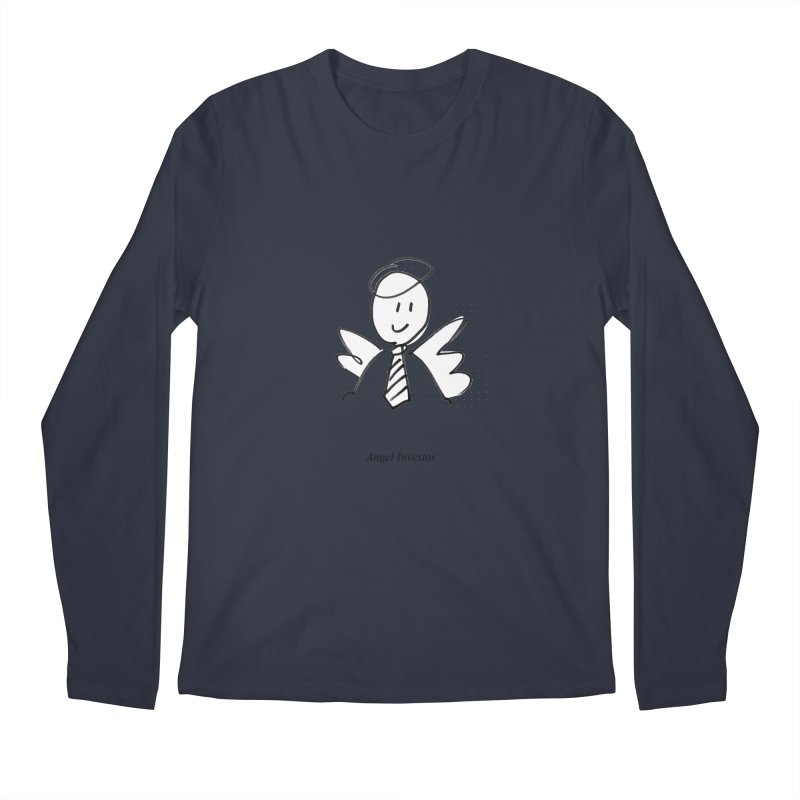 Angel Investor Men's Longsleeve T-Shirt by chalkmotion's Shop