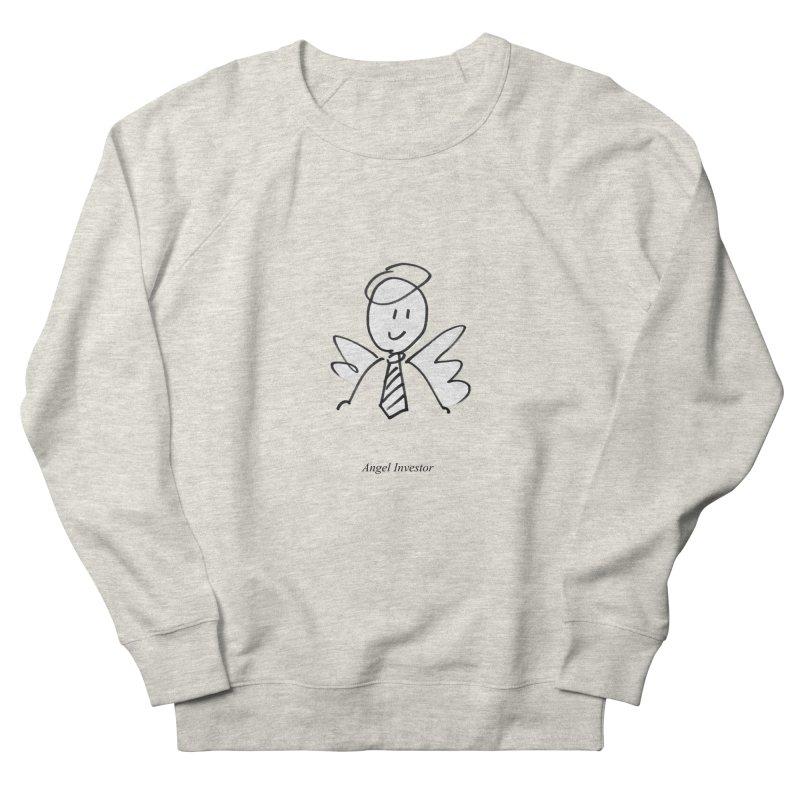 Angel Investor Men's Sweatshirt by chalkmotion's Shop