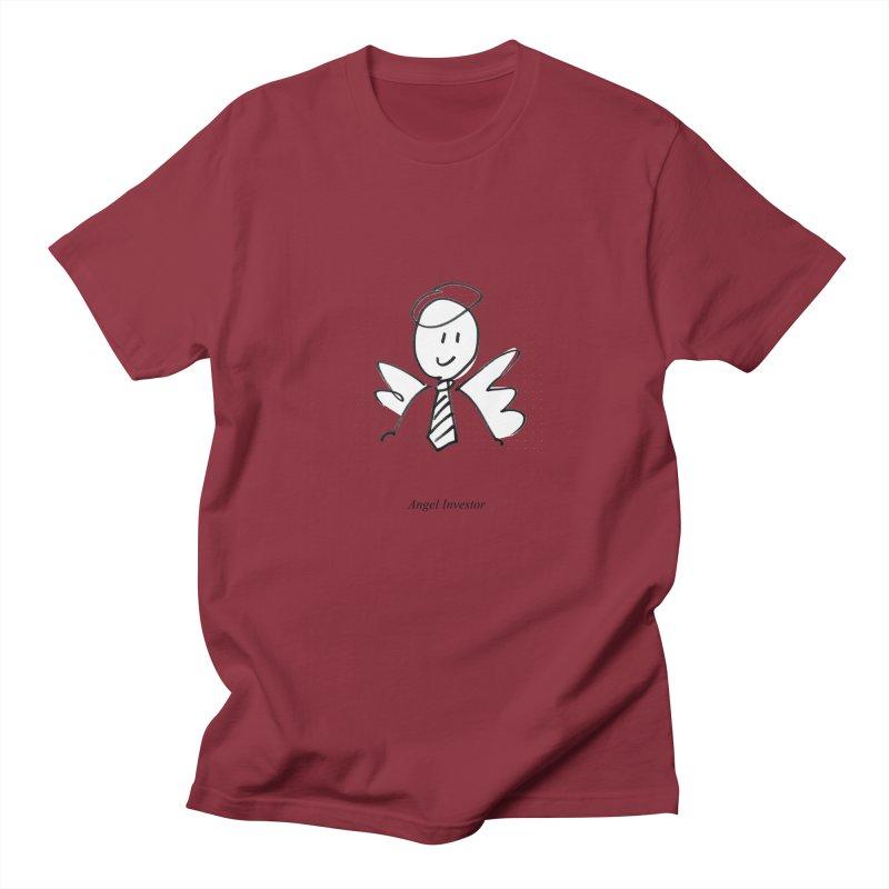 Angel Investor Men's Regular T-Shirt by chalkmotion's Shop