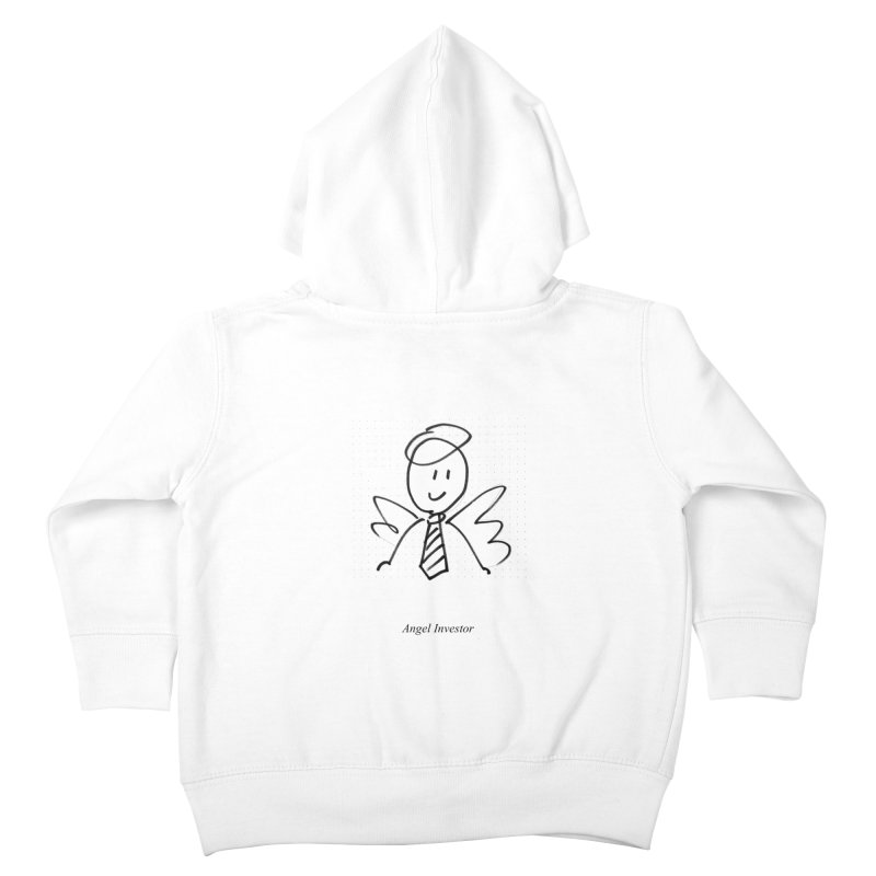 Angel Investor Kids Toddler Zip-Up Hoody by chalkmotion's Shop