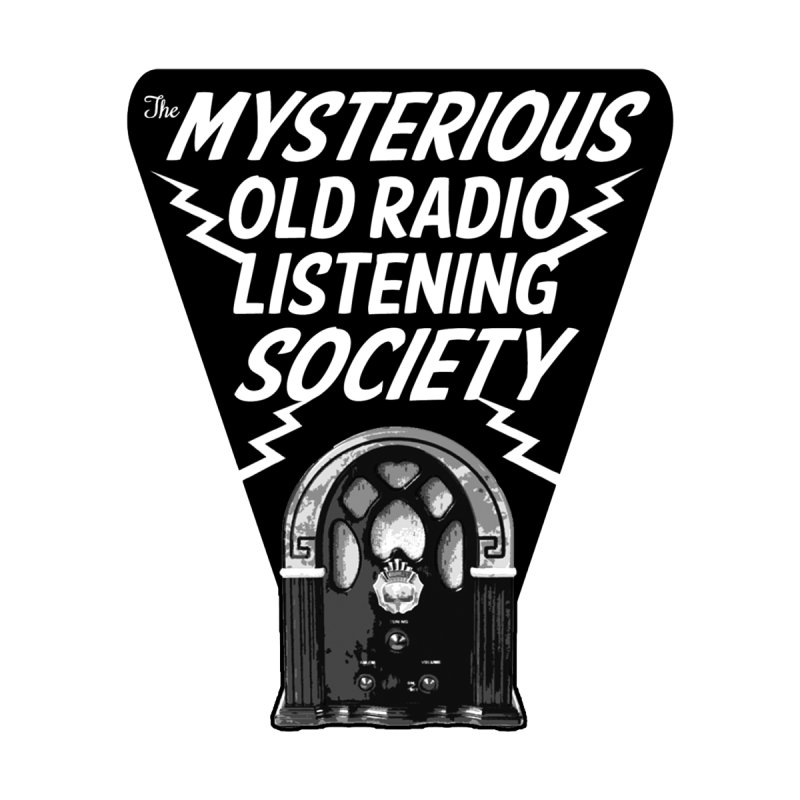 The Mysterious Old Radio Listening Society Logo by Ghoulish Delights