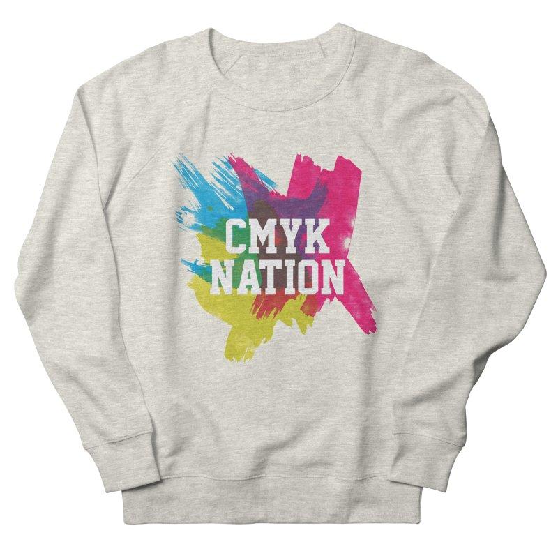 CMYK Nation Women's Sweatshirt by Gianavaria