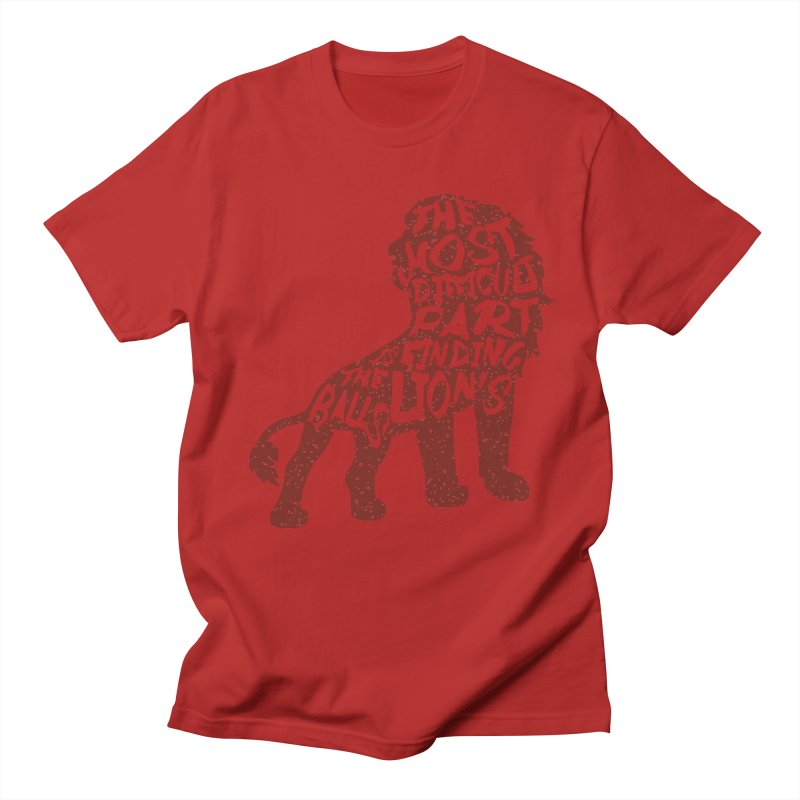 Hardest  part Men's T-shirt by Gianavaria