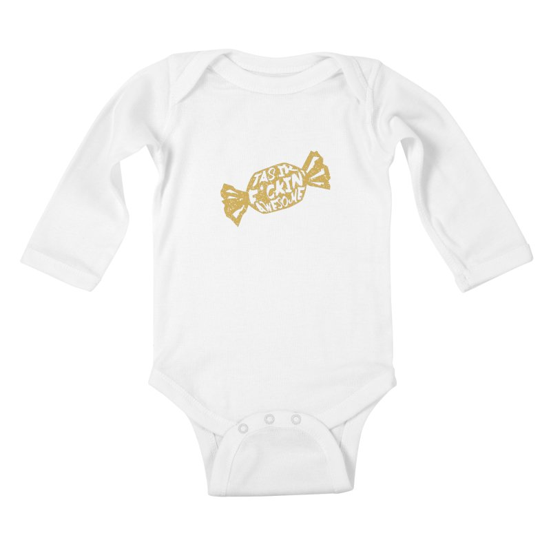 Latvian Awesome Candy Kids Baby Longsleeve Bodysuit by Gianavaria