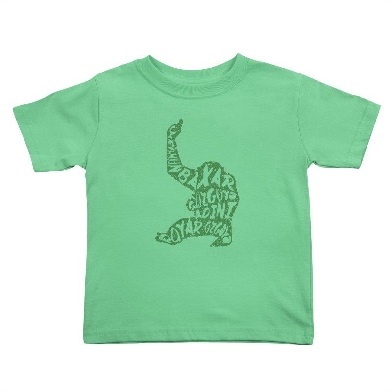 Ape Kids Toddler T-Shirt by Gianavaria