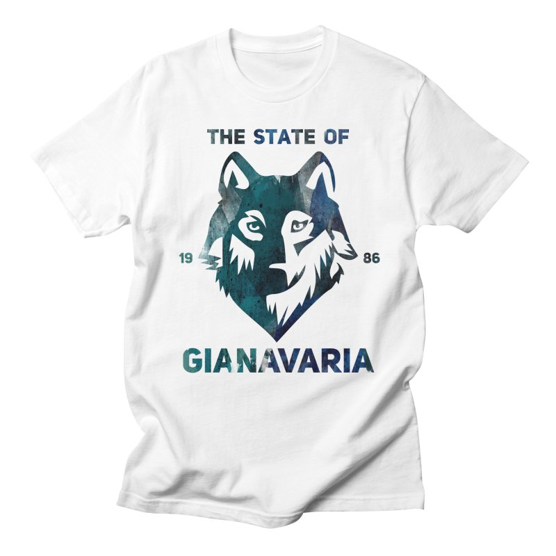 State! Men's T-Shirt by Gianavaria