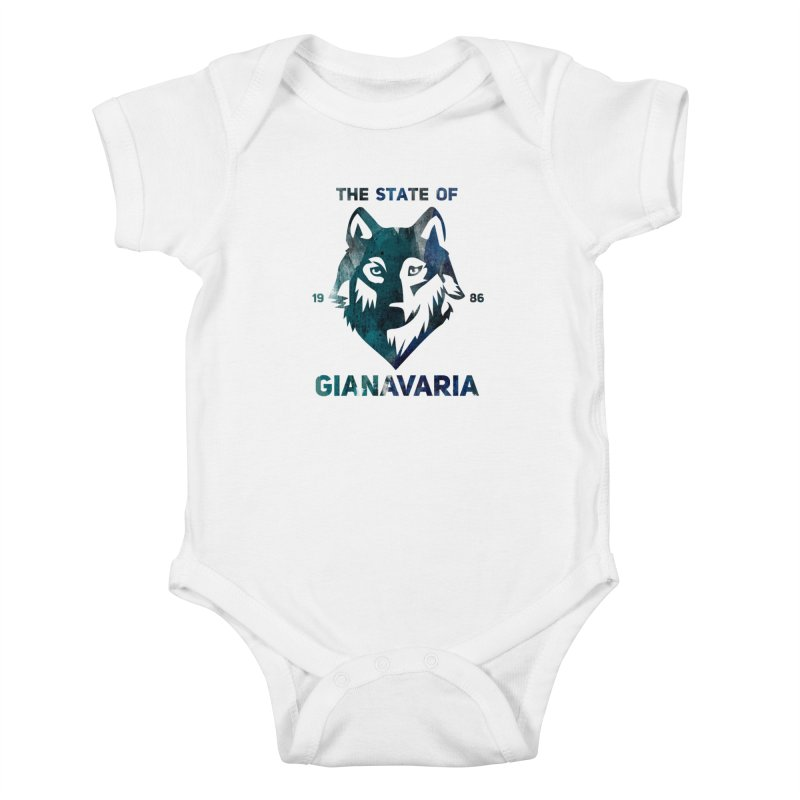 State! Kids Baby Bodysuit by Gianavaria
