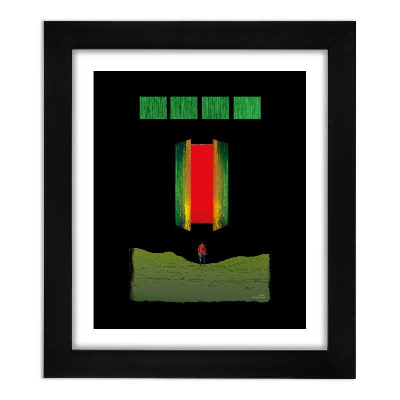 GideonFalls#5 - Pg. 19 Home Framed Fine Art Print by Gideon Falls