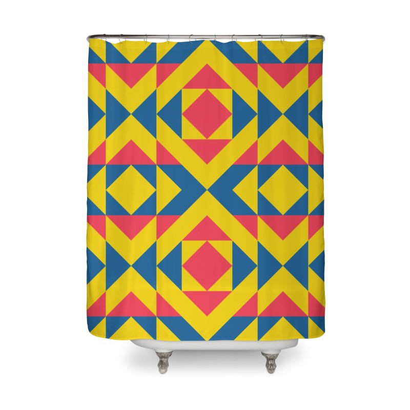 Wiracocha Home Shower Curtain by gildamartini's Artist Shop