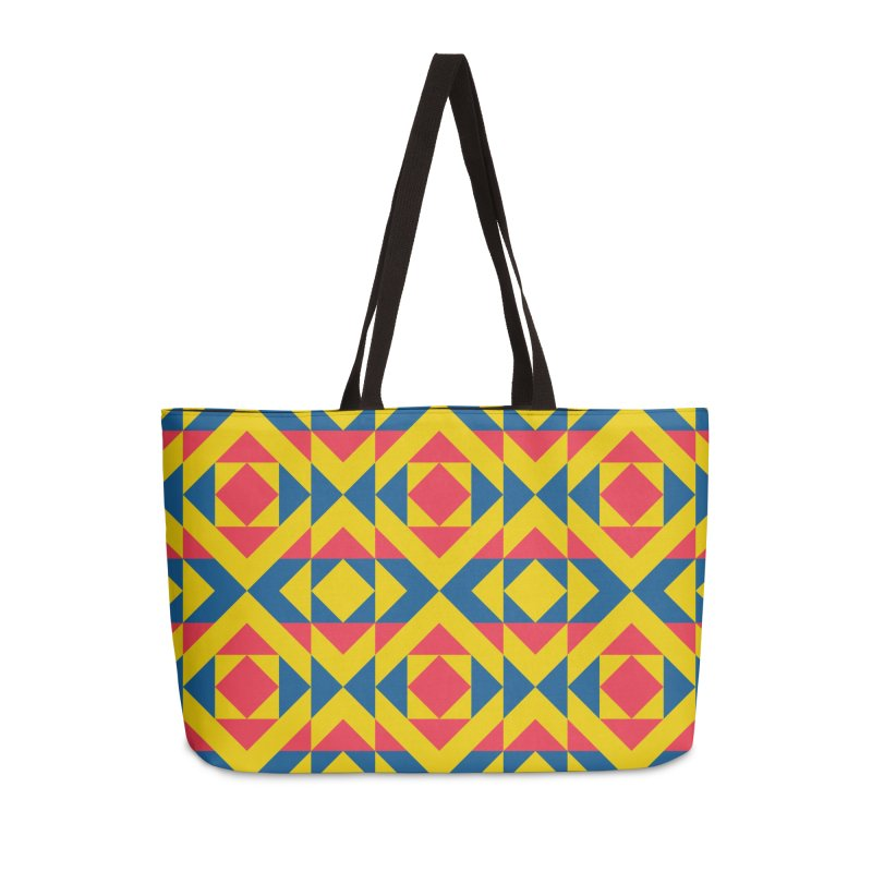 Wiracocha Accessories Weekender Bag Bag by gildamartini's Artist Shop