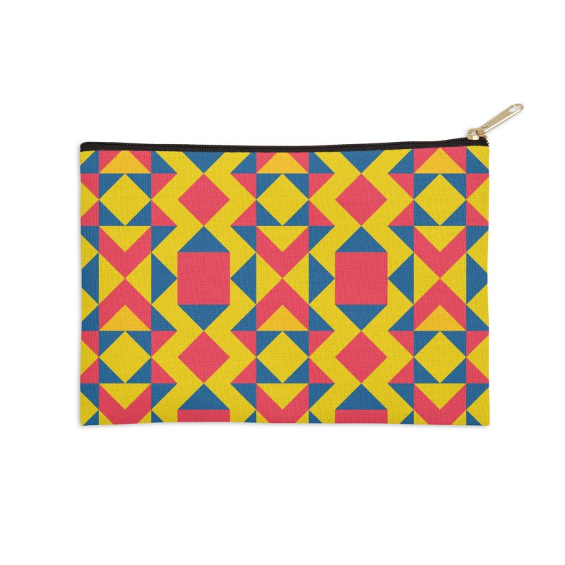 Itza Accessories Zip Pouch by gildamartini's Artist Shop