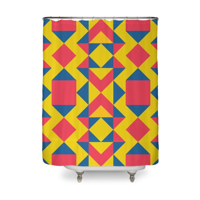 Itza Home Shower Curtain by gildamartini's Artist Shop