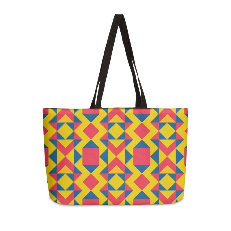 Itza Accessories Weekender Bag Bag by gildamartini's Artist Shop