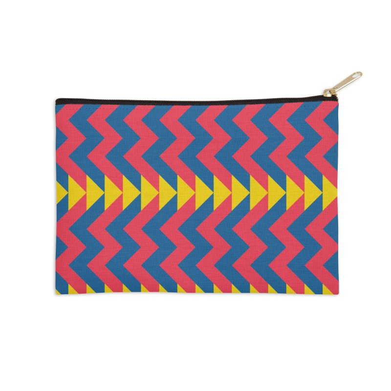 Circus Accessories Zip Pouch by gildamartini's Artist Shop