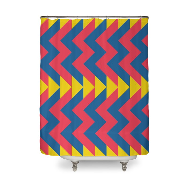 Circus Home Shower Curtain by gildamartini's Artist Shop