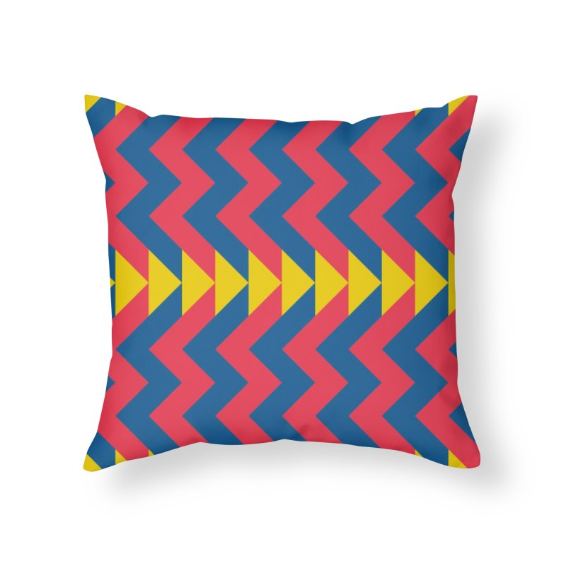 Circus Home Throw Pillow by gildamartini's Artist Shop