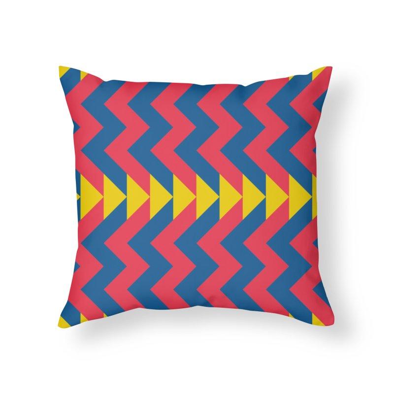 Circus Home Throw Pillow by gildamartini's Artist Shop