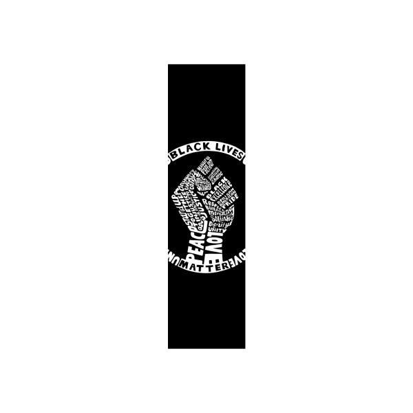 image for Black Lives Matter - Skateboard (White Print)