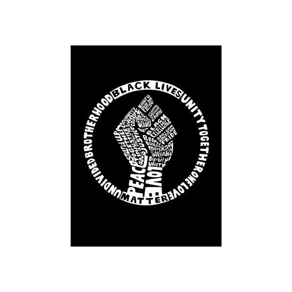 image for Black Lives Matter - Blanket (White Print)