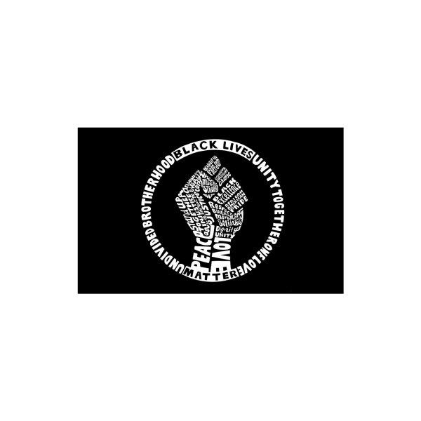 image for Black Lives Matter - Face Mask (White Print)