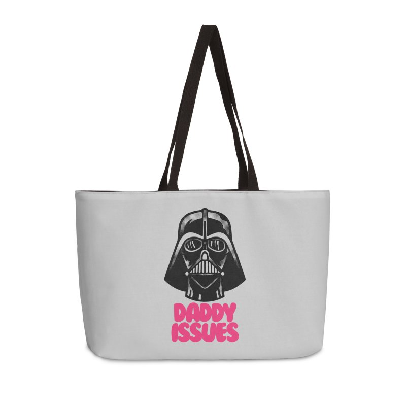 Daddy issues Accessories Weekender Bag Bag by Gimetzco's Damaged Goods