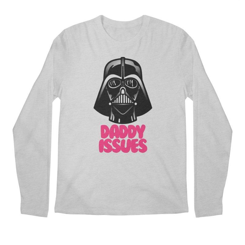 Daddy issues Men's Regular Longsleeve T-Shirt by Gimetzco's Damaged Goods