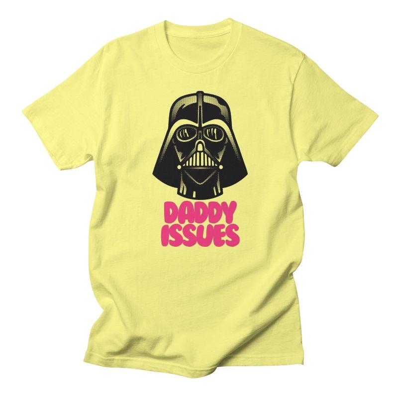 Daddy issues Women's Regular Unisex T-Shirt by Gimetzco's Damaged Goods
