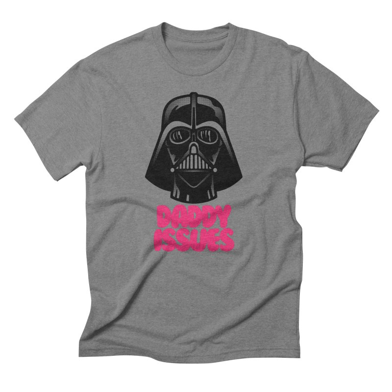 Daddy issues Men's Triblend T-Shirt by Gimetzco's Damaged Goods