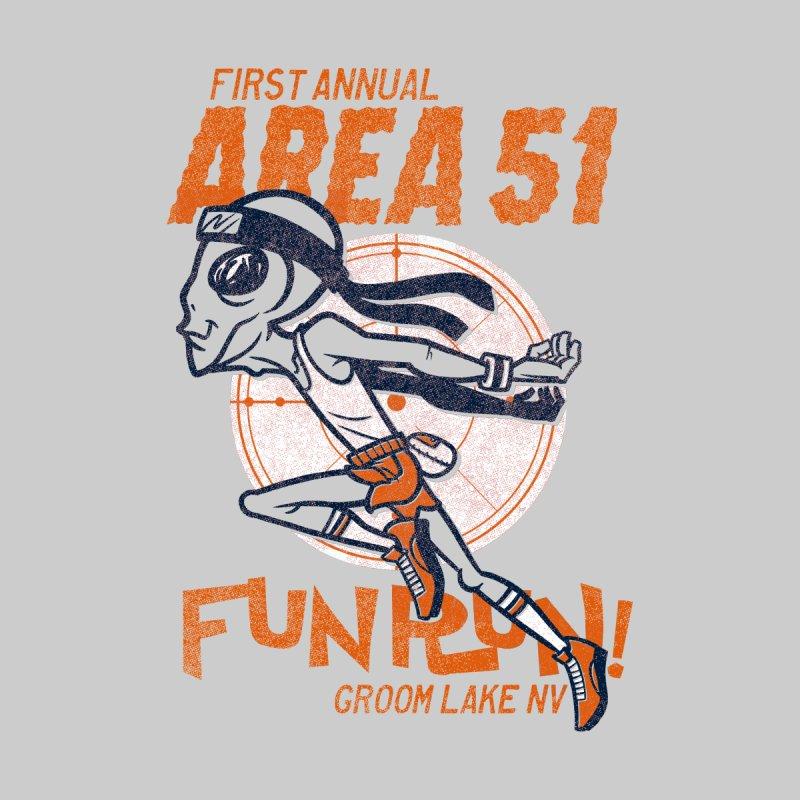 Area 51 Fun Run! Kids Baby Zip-Up Hoody by Gimetzco's Damaged Goods