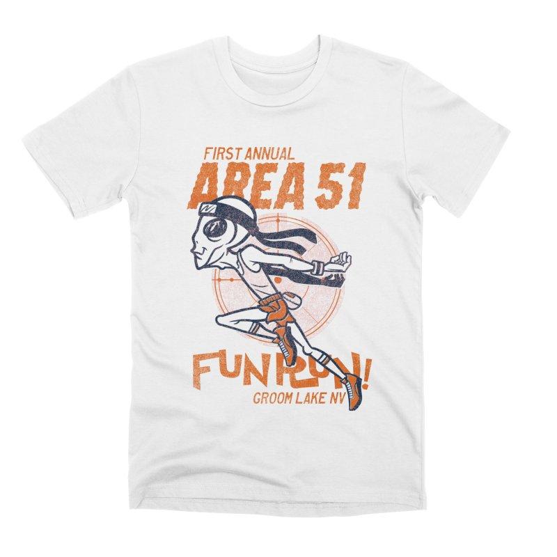 Area 51 Fun Run! Men's Premium T-Shirt by Gimetzco's Damaged Goods