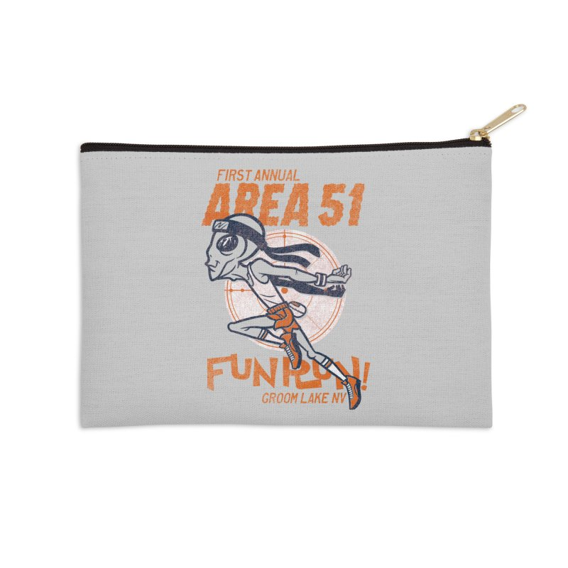 Area 51 Fun Run! Accessories Zip Pouch by Gimetzco's Damaged Goods