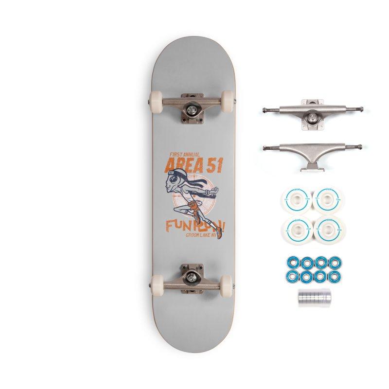 Area 51 Fun Run! Accessories Complete - Basic Skateboard by Gimetzco's Damaged Goods