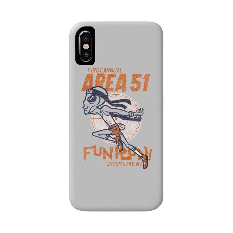 Area 51 Fun Run! Accessories Phone Case by Gimetzco's Damaged Goods