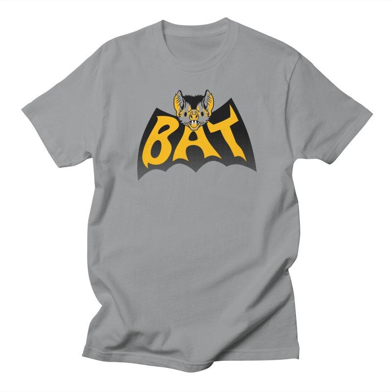 BAT in a Batshape Men's T-Shirt by Gimetzco's Damaged Goods