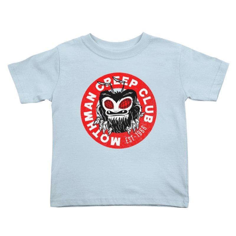 Mothman Creep Club Kids Toddler T-Shirt by Gimetzco's Artist Shop