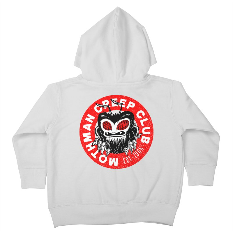 Mothman Creep Club Kids Toddler Zip-Up Hoody by Gimetzco's Artist Shop