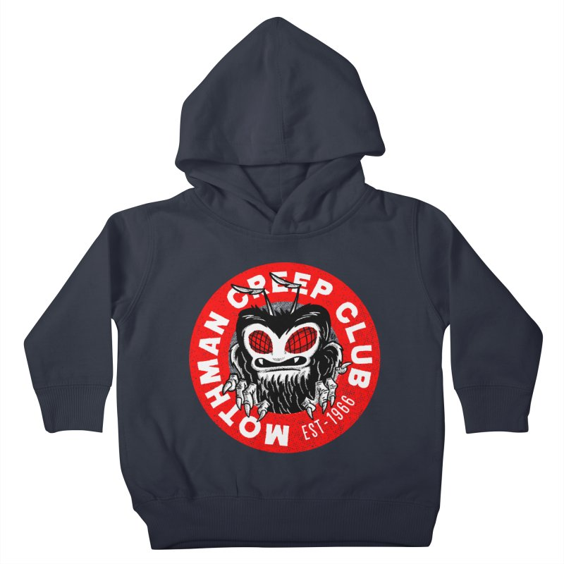 Mothman Creep Club Kids Toddler Pullover Hoody by Gimetzco's Artist Shop