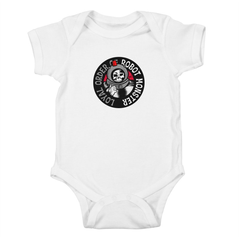 Loyal Order of Robot Monster Kids Baby Bodysuit by Gimetzco's Damaged Goods