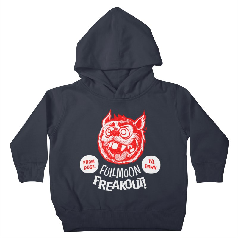 Fullmoon Freakout Kids Toddler Pullover Hoody by Gimetzco's Artist Shop