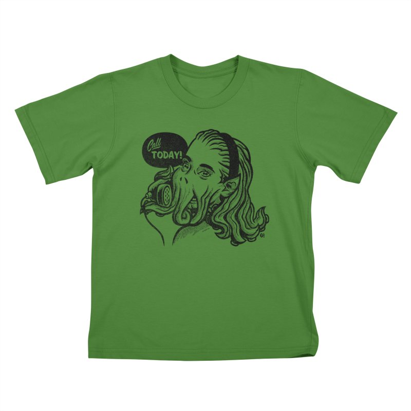 Callthulhu Kids T-Shirt by Gimetzco's Damaged Goods