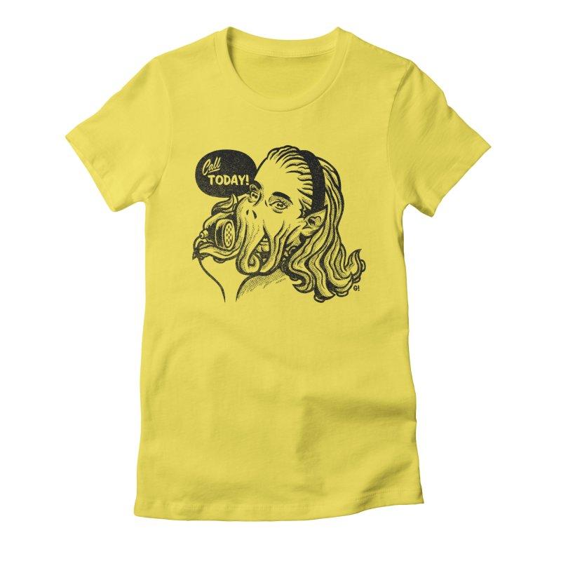 Callthulhu Women's T-Shirt by Gimetzco's Damaged Goods