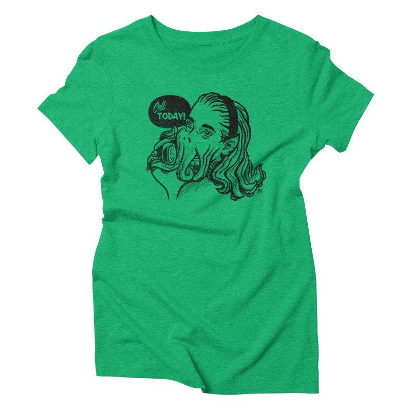 Callthulhu Women's Triblend T-Shirt by Gimetzco's Artist Shop