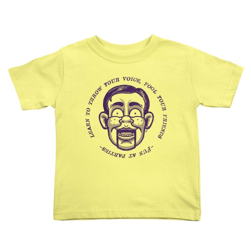 Fun at parties Kids Toddler T-Shirt by Gimetzco's Artist Shop