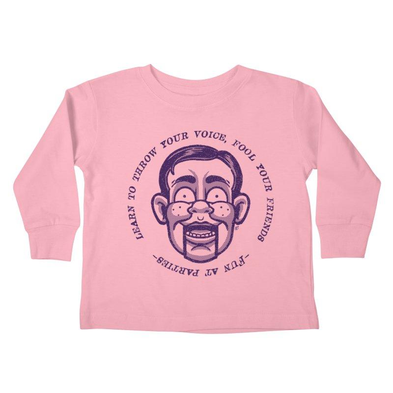 Fun at parties Kids Toddler Longsleeve T-Shirt by Gimetzco's Artist Shop