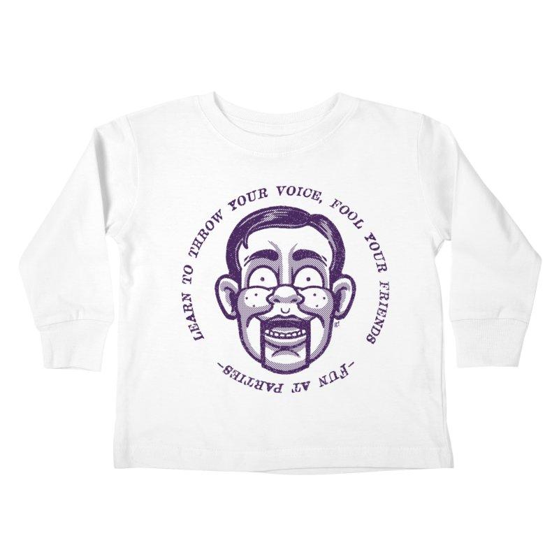 Fun at parties Kids Toddler Longsleeve T-Shirt by Gimetzco's Damaged Goods
