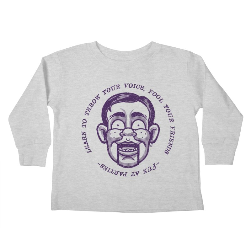Fun at parties Kids Toddler Longsleeve T-Shirt by Gimetzco's Artist Shop