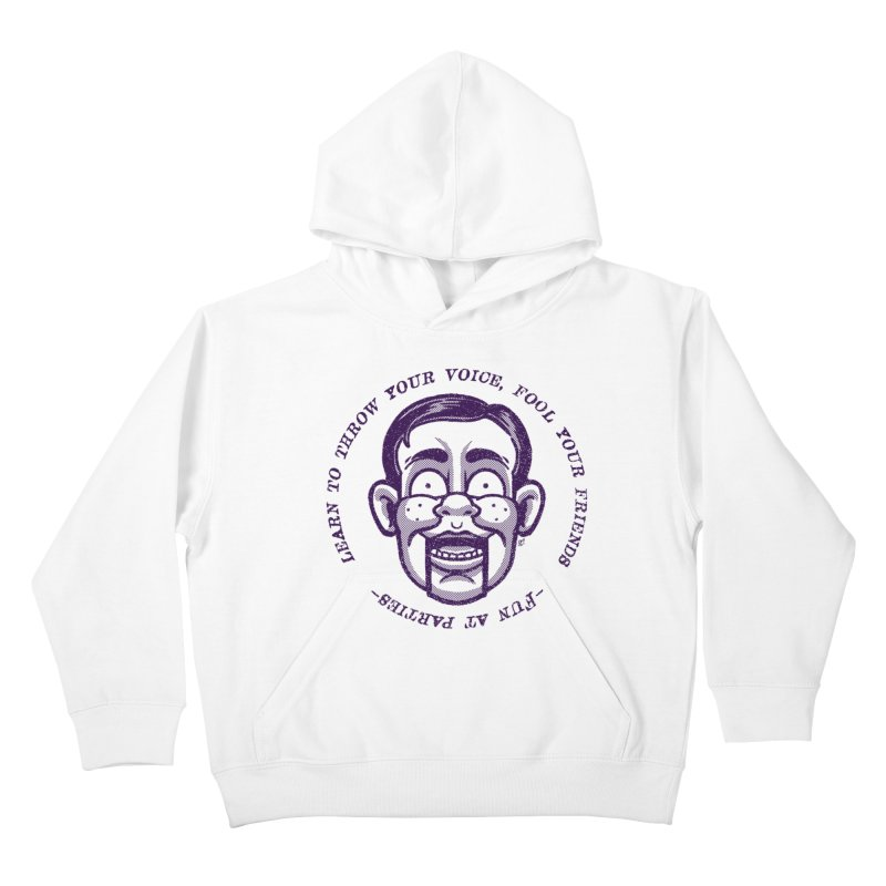 Fun at parties Kids Pullover Hoody by Gimetzco's Damaged Goods