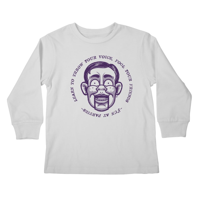 Fun at parties Kids Longsleeve T-Shirt by Gimetzco's Damaged Goods