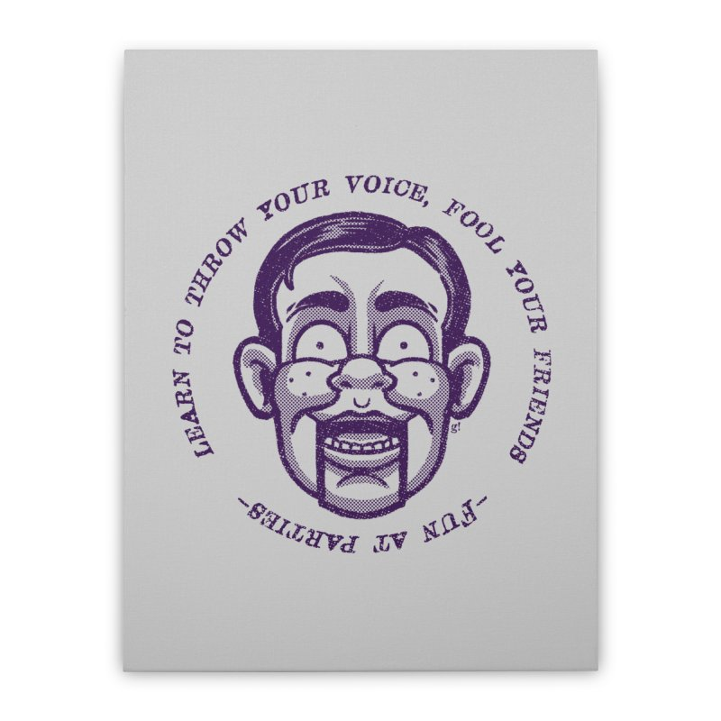 Fun at parties Home Stretched Canvas by Gimetzco's Artist Shop
