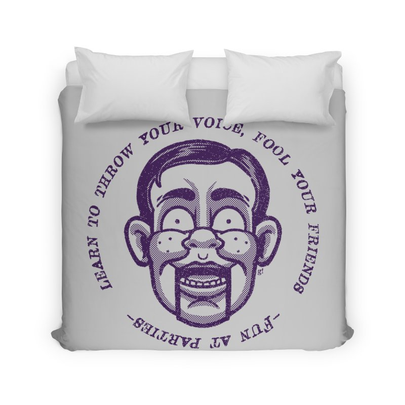 Fun at parties Home Duvet by Gimetzco's Damaged Goods